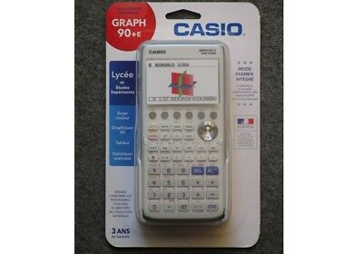 Calculatrice Scientifique Casio Graph 90+E Neuve