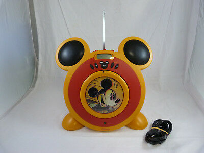 Disney Mickey Mouse CD Player With AM/FM Radio