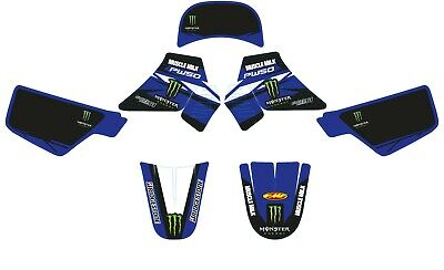 Kit Déco COMPLET Bleu Monster Muscle MILK - YAMAHA PW50 1984 à 2019