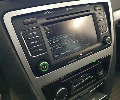 Skoda Octavia CD-Radio MP3 SD-Karte 1Z0035156F rs