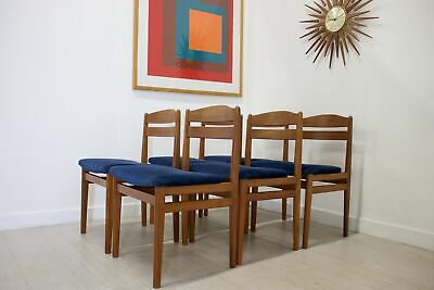 DELIVERY £60 Mid Century Retro 6 Teak Danish Boltinge Dining Chairs
