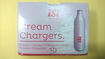 ISI N2O Nitrous Oxide Cream Chargers, Nos, Noz Whipper Canisters UK quick post!!
