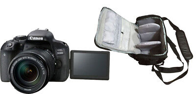 NEW Canon 800D + EF-S 18-135mm IS STM + KamKorda Bag + UK NEXT DAY DELIVERY
