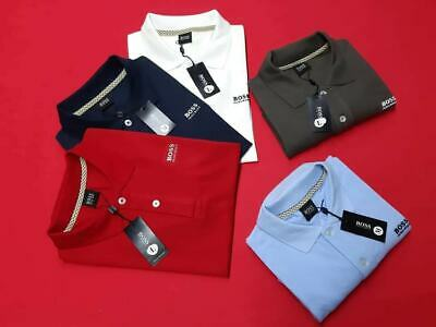 Hugo Boss Polo T-Shirts for Men  Short Sleeve Gents Classic Tops