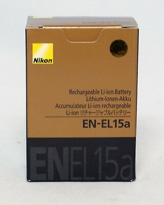 Nikon EN-EL15a 1900mAh Rechargeable Li-Ion Camera Battery Grey Gray Genuine OEM