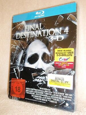Final Destination 4 SteelBook [Blu-ray: Region Free, 3D/2D] (Special Edition)