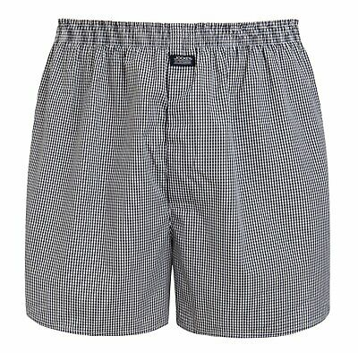 Jockey® Herren Unterhose Short Everyday Check Boxer Woven 315000H I S bis 6XL