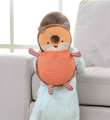 Baby Head Protection Back Pad Toddler Headrest Pillow Baby Animal Cushion LH