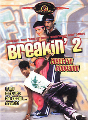 Electric Boogaloo Breakin' 2 (DVD 2002) RARE 1984 LUCINDA DICKEY SHABBA DOO