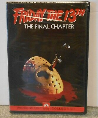 Friday the 13th - Part 4 The Final Chapter (DVD 2000) RARE 1984 HORROR BRAND NEW