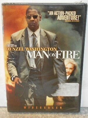 Man on Fire (DVD, 2004) RARE ACTION CRIME DRAMA BRAND NEW