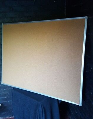 Aluminium Framed Cork Notice Board /  Cork Board / Pin Board