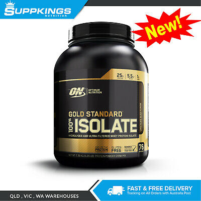 Optimum Nutrition 100% Gold Standard Whey Protein Isolate / Hydrolysed