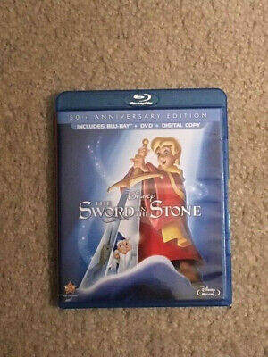 The Sword in the Stone (Blu-ray Disc/Digital, 50th Anniversary) NO DVD