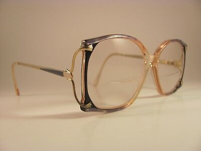 f35aed14e3 VINTAGE ALWAYS LITE Brown Blue Clear Tortoise Shell Full-Rim RX ...