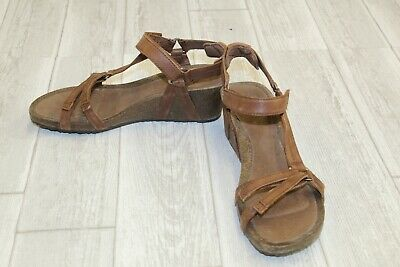 a9974f797742 TEVA YSIDRO UNIVERSAL Wedge Sandals - Women s Size 9 - Brown ...