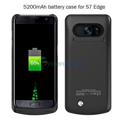 Backup Power Bank Battery Case Cover Charger For Samsung Galaxy S7 S6 edge Plus