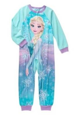 bd1846e110 DISNEY FROZEN PRINCESS Elsa   Anna Girls Blanket Sleeper Pajamas ...