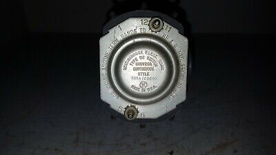 Westinghouse Rotary Switch, Type W2, 505A703G60