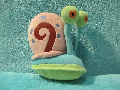 c413521723d 2006 Ty Beanie Babies Spongebob Squarepants - Gary The Snail Soft Plush Toy  5