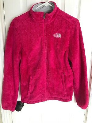 18b993a89 EXC NORTH FACE WOMENS OSITO HOT PINK Hoodie FLEECE JACKET Small ...