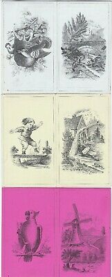 RARE 3 Folding Victorian Trade Cards - Morrison Wool Clothing Braintree MA 1880