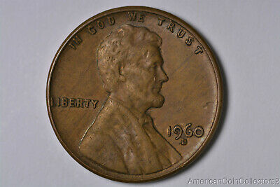 1960-D Lincoln Memorial Cent Penny Double Small Date & D LooK | 9533