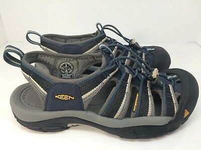 3de4f7fc4478 KEEN Men s Newport H2 Sandals 1014187 Midnight Navy Blue   Neutral Gray  Size 8