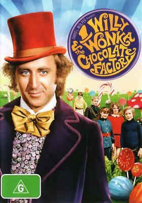 Willy Wonka And The Chocolate Factory (DVD), NEW SEALED AUSTRALIAN