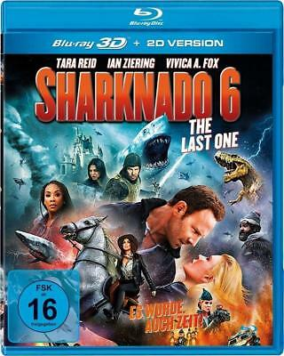 Sharknado 6-The Last One 3D - Reid,Tara/Ziering,Ian Uncut Edit 3D Blu-Ray New