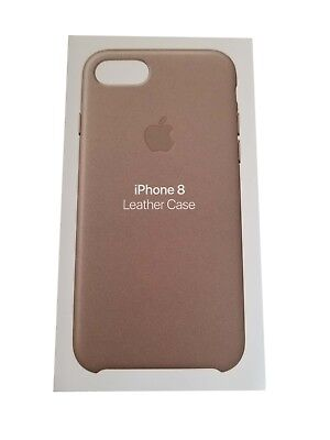 Echt Apple Iphone 8/Iphone 7 Leder Taupe Tasche - Mqh62zm/A