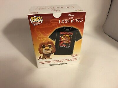 Lion King Mufasa Flocked Funko Pop And XL T-Shirt Pack (Target Exclusive)
