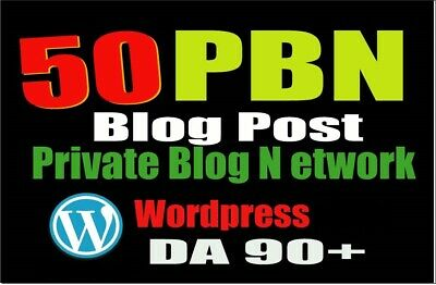 Permanent 50 PBN BLOG POST WordPress for excellent website and youtube SEO