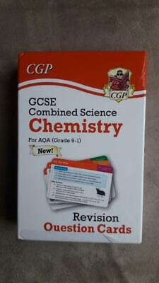 New 9-1 GCSE Combined Science: Chemistry AQA Revision Question Cards - CGP NEW