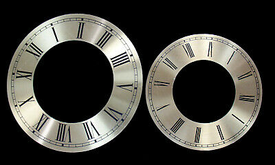 New Gold Time Ring Clock Dial with Roman Numbers - 2 Choices! (C-684)