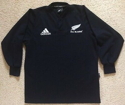 New Zealand All Blacks Rugby Union Jersey - adidas Mens Size S - VGC