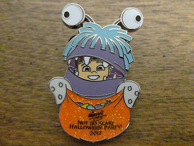 Disney Mickey's Not So Scary Halloween 2017 Mystery LE 1000 Boo chaser pin