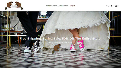 Shoes eCommerce Website. AUTOMATED DROPSHIP, Shipped from China and USA.