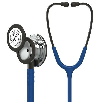 Littmann Classic III Stethoscope: Navy Blue Mirror Ed + FREE ENGRAVING & GIFTS!