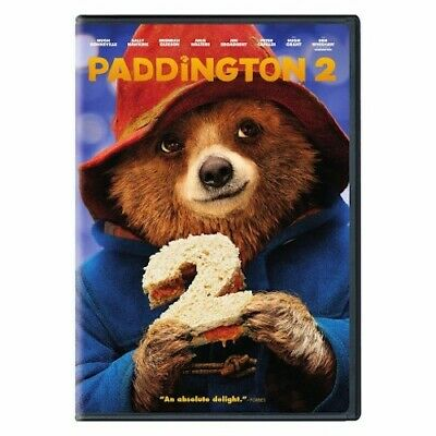 Paddington 2 DVD New & Sealed comes with Outer Slipcover Free Shipping Included