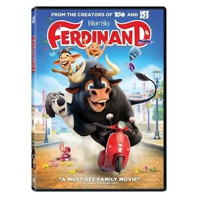 Ferdinand (DVD, 2018) New & Sealed comes with Slipcover Free Shipping Included!