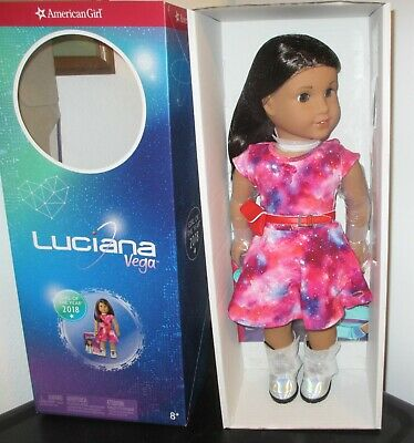 2 necklaces-holographic choker 4 Blaire American Girl Doll Luciana Meet Outfit
