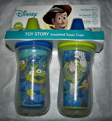 The First Years 2 Pack 9 Ounce Insulated Sippy Cup, Toy Story