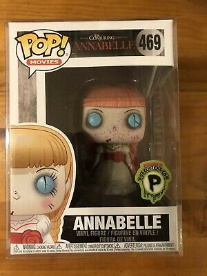 Horror Funko Pop THE CONJURING ANNABELLE POPCULTCHA.COM RARE EXCLUSIVE 469