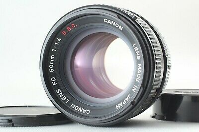 *APP NEAR MINT [AS-IS]* Canon FD 50mm f/1.4 S.S.C SSC MF Lens From JAPAN