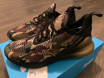 huge selection of ee8a2 491fb NIKE AIR MAX 270 DB Doernbecher Aiden Barber Camo Shoes 8.5 BV7112 001