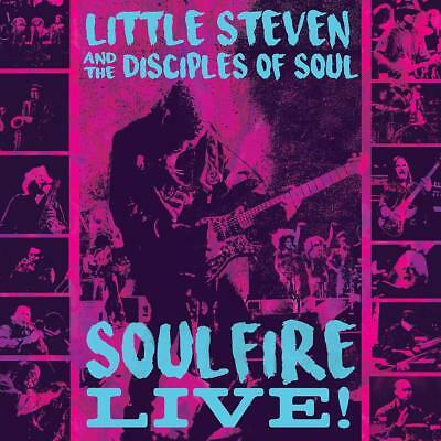 The Little Steven/Disciples Of Soul - Soulfire Live! (3Cd)  3 Cd New