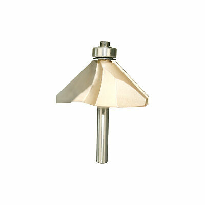 Chamfer Router Bits 45 Degree 1/4-Inch Shank 1-Inch Cutting Length About 11/16-I