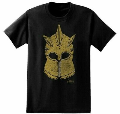 Game Of Thrones KINGS GUARD HELMET - THE MOUNTAIN HELM T-Shirt NWT Licensed