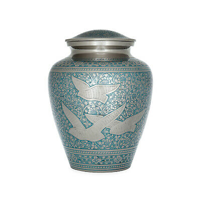 "Cremation Urn for Adults - Size Large 10.5"" - Memorial urn for ashes"